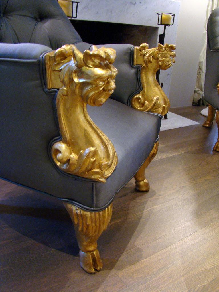 DSC05736 SF Decorator Showcase living room chair detail