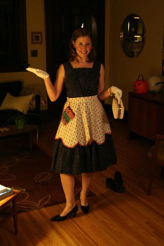 Halloween housewife