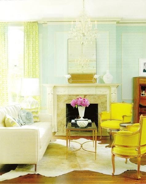 beautiful color, but I would NEVER be able to deal with teal walls gotta have beautiful white walls...color of whipped cream with all the color as accents in the room.