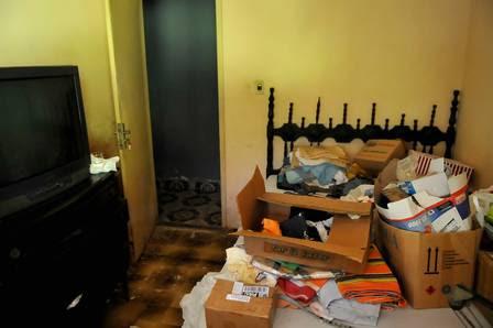 O quarto onde Malhães foi assassinado