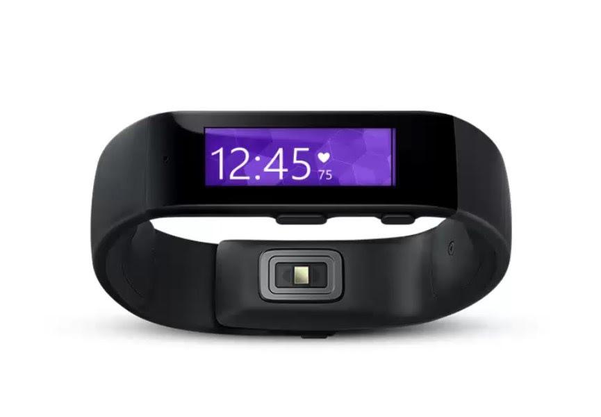 Microsoft anuncia pulseira inteligente Band e app fitness Health