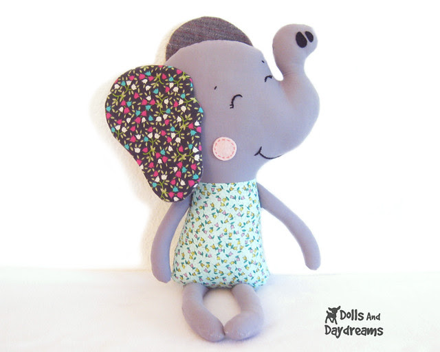 Elephant sewing pattern children story easy pdf copy