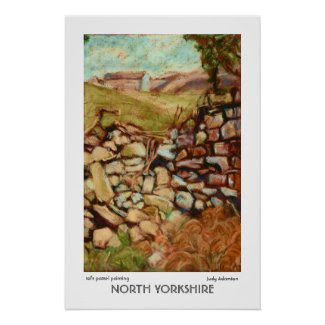 North Yorkshire Print or Poster print