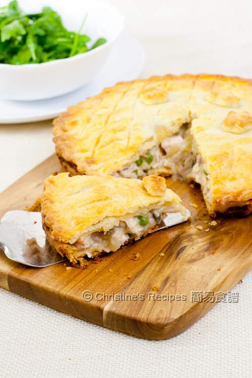 蘑菇雞肉批 Mushroom Chicken Pie04