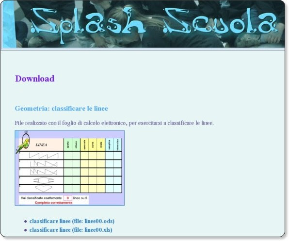 http://splashscuola.altervista.org/esercizi/download/download.shtml#linee00