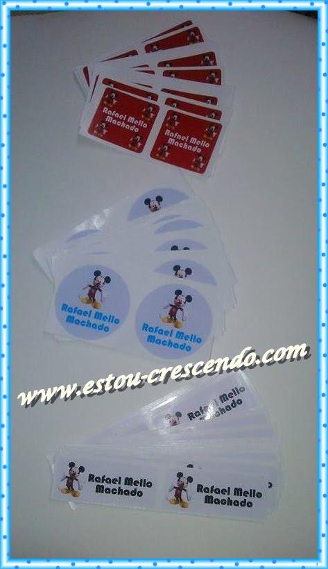 Adesivos e Etiquetas Personalizados