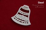 2-warstwowy dzwonek - Tinsel - 2-layers Bell