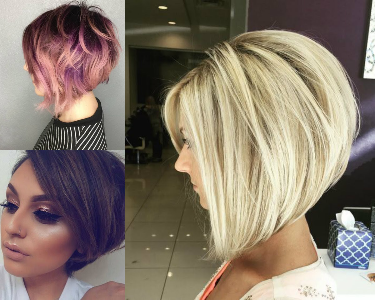 Business Style Stacked Bob Hairstyles 2017 Hairdromecom
