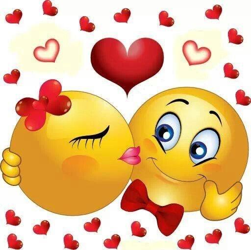 Guten Morgen Kuss Smiley