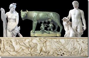 Venus, She-wolf and Antinoo