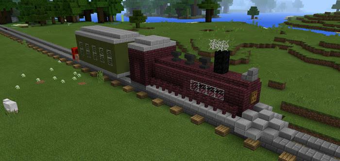 Command Block Train Redstone  Only Minecraft