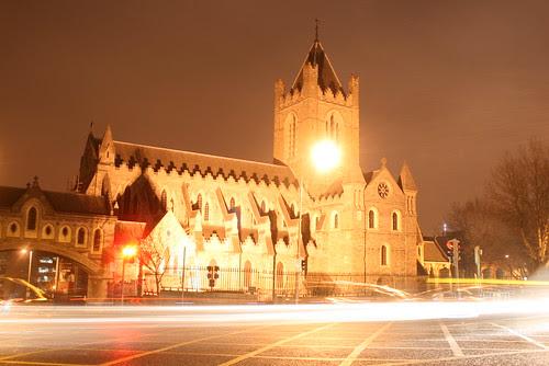 Christ Church Light Trails