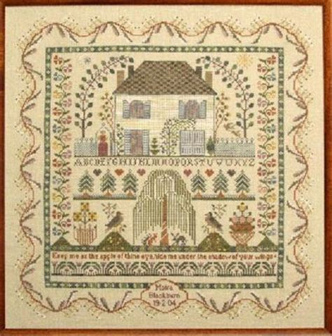 Keep Me Sampler ? European Crosstitch Co