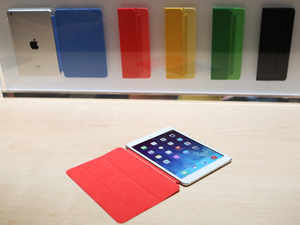 New iPad covers at Apple Store open & close automatically