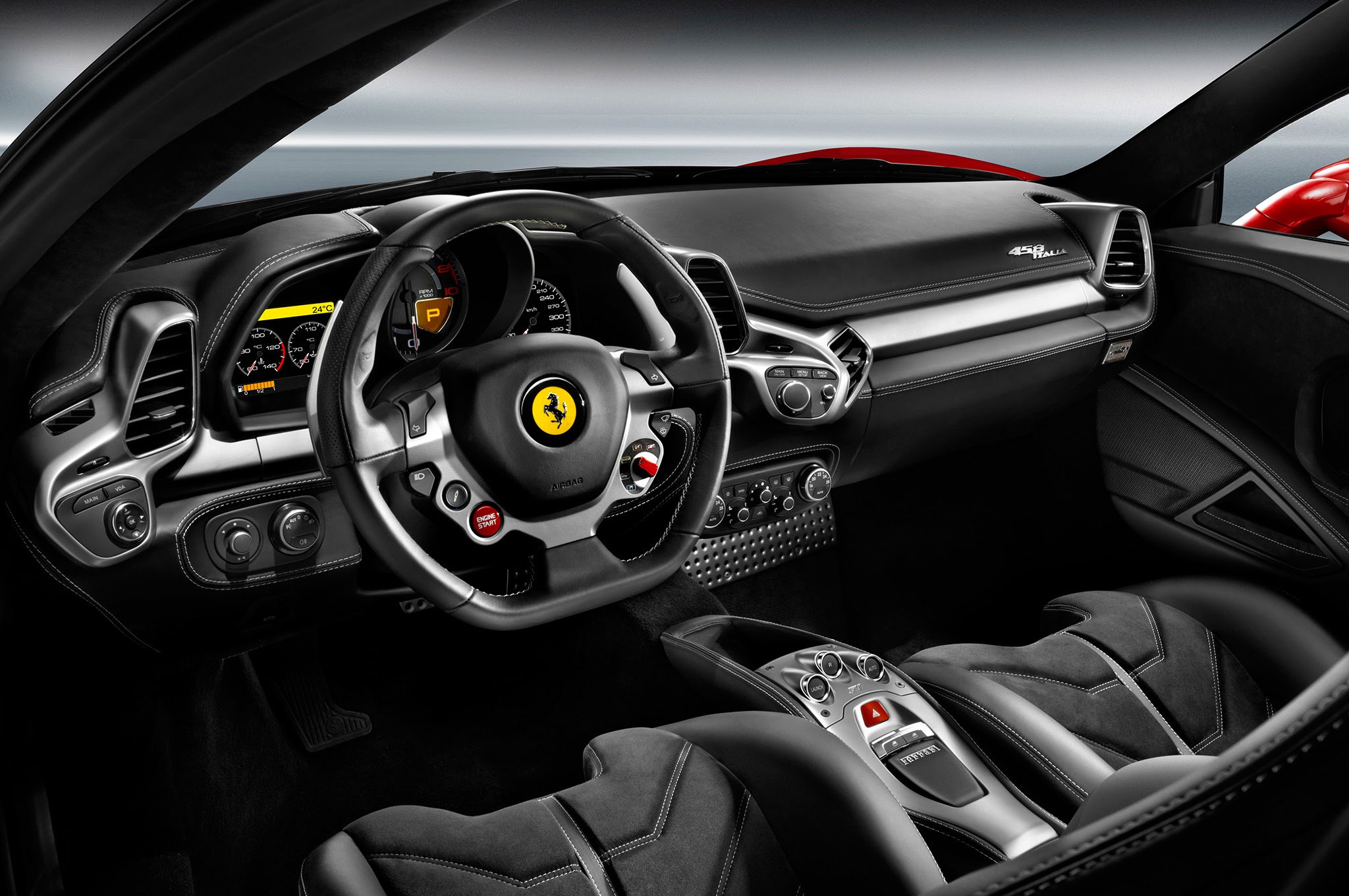Ferrari 458 Italia Rennerlebnis in Las Vegas