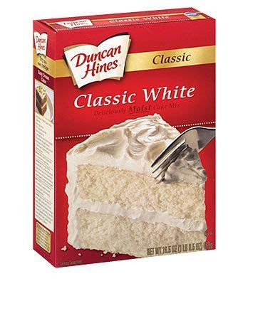 Duncan Hines Classic White Cake Mix is dairy free and egg
