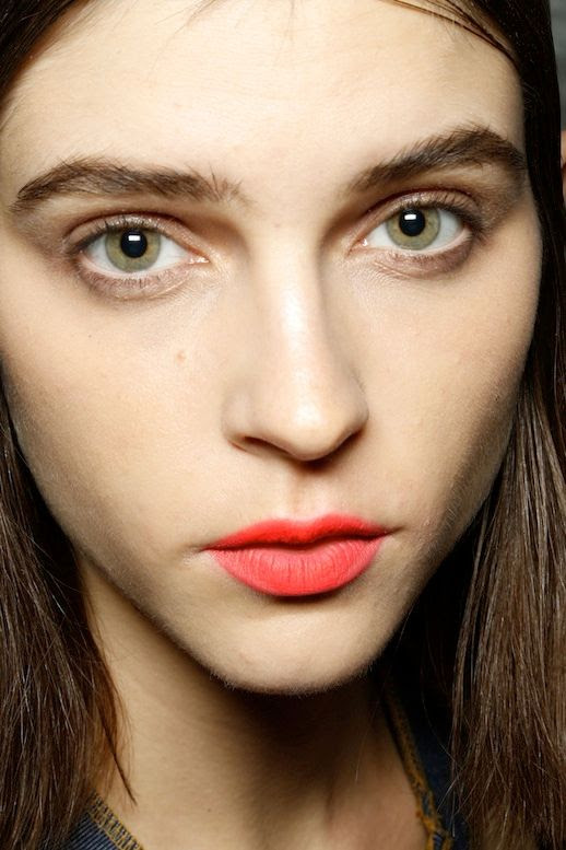 Le Fashion Blog Bright Matte Lip Orange Red Lipstick Model Kel Markey Backstage Beauty Missoni SS 2013 photo Le-Fashion-Blog-Bright-Matte-Lip-Orange-Red-Lipstick-Model-Kel-Markey-Backstage-Beauty-Missoni-SS-2013.jpg
