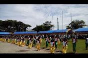 Video : Aksi Personil SSTD Iringi Atraksi Permainan Rakyat
