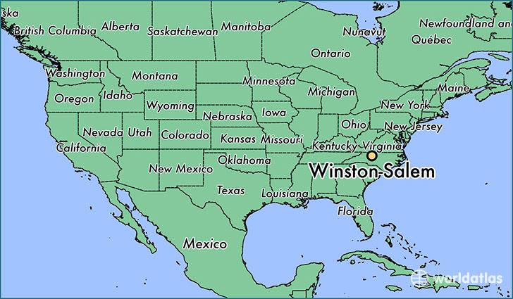 Where Is Winston Salem Nc Winston Salem North