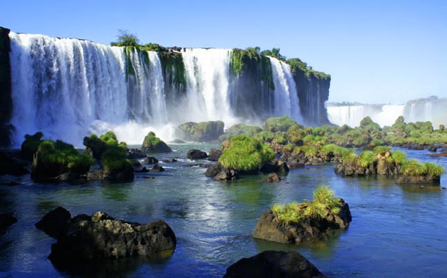 Αποτέλεσμα εικόνας για καταρράκτες ιγκουασού αργεντινή