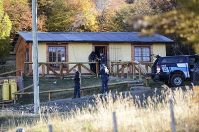 Parte de las propiedades Báez en 28 de Noviembre. Foto Opi Santa Cruz.