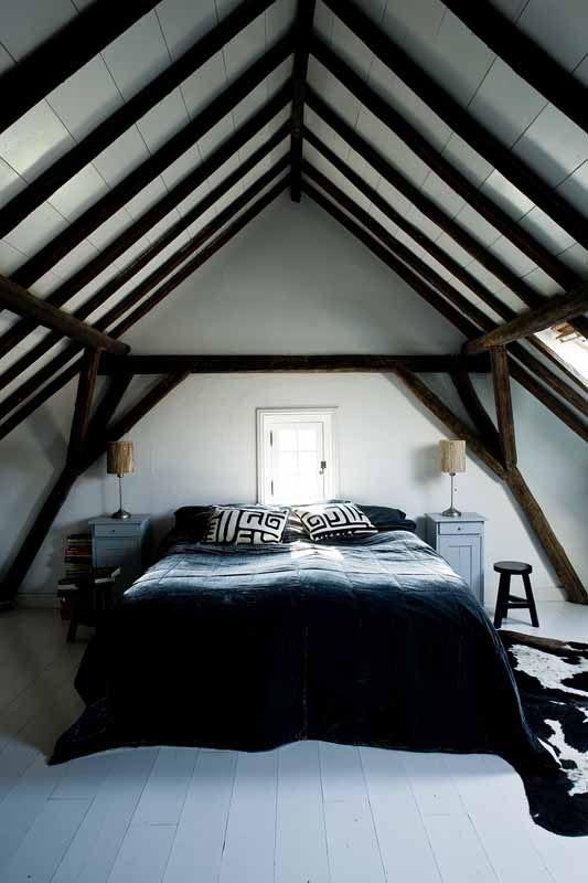 Gorgeous attic bedroom