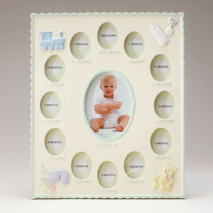 Babys First Year Frame