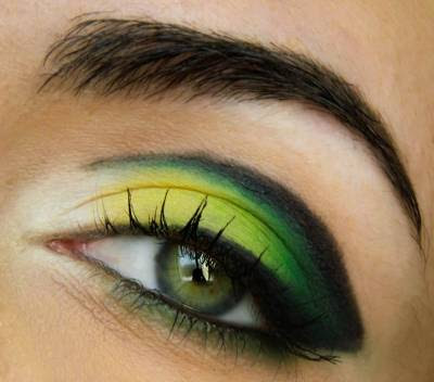Maquiagens legais para copa do Brasil