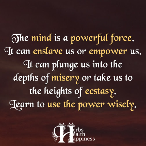 The Mind Is A Powerful Force ø Eminently Quotable Quotes Funny