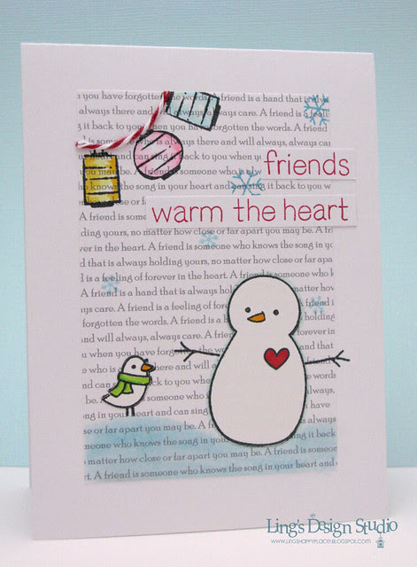Friends Warm The Heart