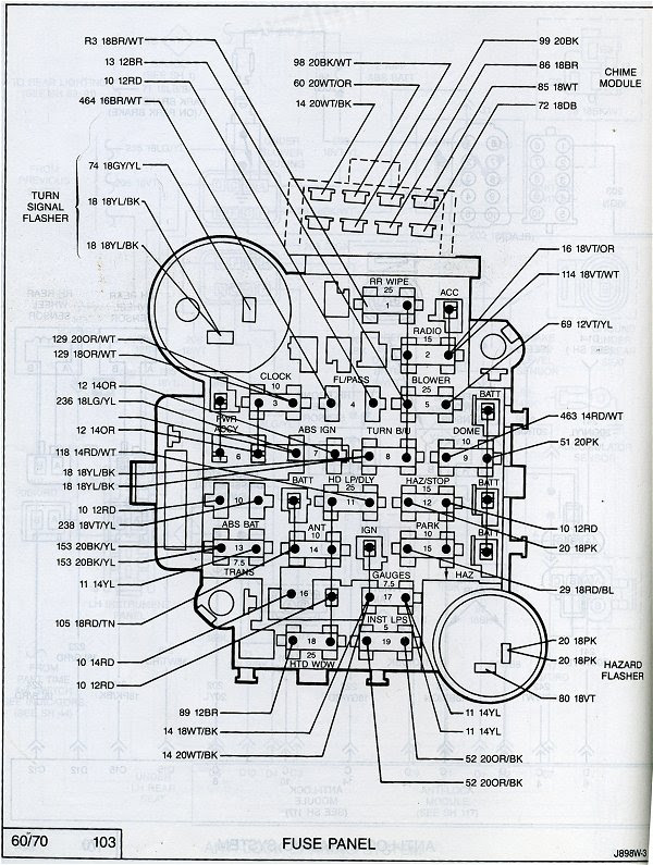 2004 Jeep Tj Fuse Box Diagram