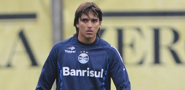 Marcelo Moreno não treinará mais com os demais jogadores do elenco do Grêmio