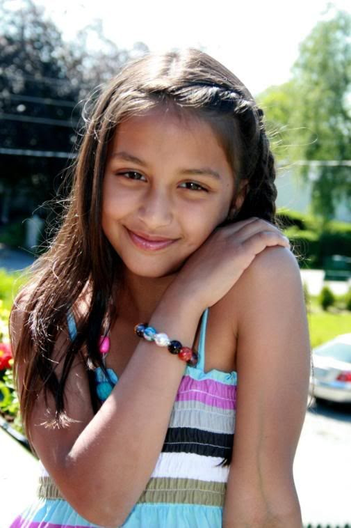 Kalyani idag med armband fra Monique og MOXX. Nydelig!