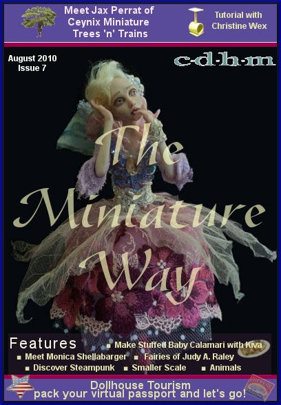 CDHM The Miniature Way online magazine of doll and dollhouse miniature artisans
