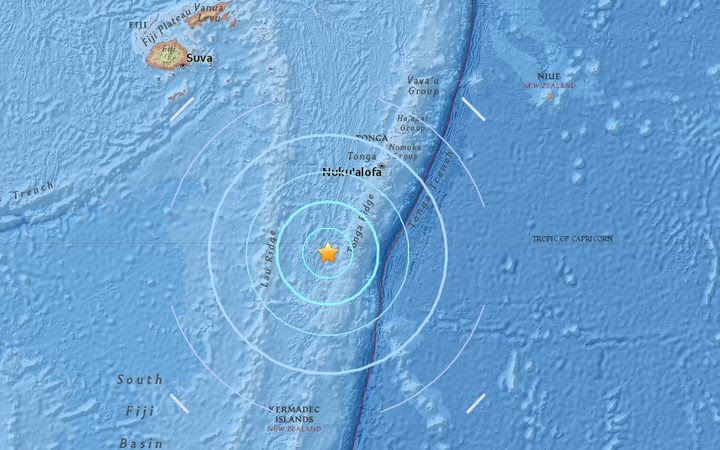 The USGS measured a 6.4 earthquake to the south of Fiji, and the southwest of Tonga, at 98 kilometres deep, 846km south east of Suva, at 1619 Fiji Time on 26 September 2017.