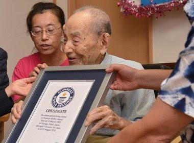 Aos 112 anos, homem mais velho do mundo morre no Japão