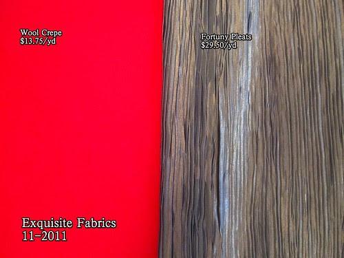 Exquisite Fabrics 11-2011