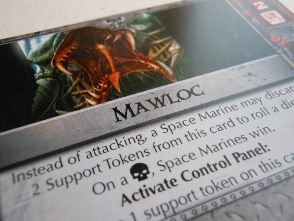 Space Hulk: Death Angel - Tyranid Enemy Pack Mawloc