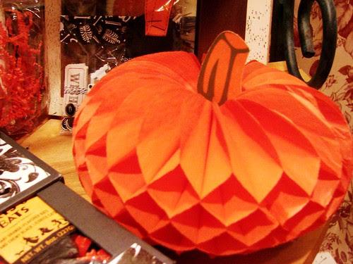 Thrifted Pumpkin decoration