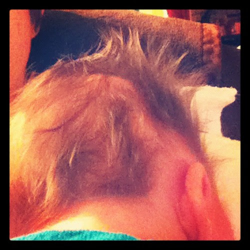 some people pay big money to get their hair to do this!