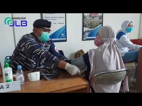 Serbuan Vaksinasi Covid-19 ke Pelabuhan Pelindo III Batulicin