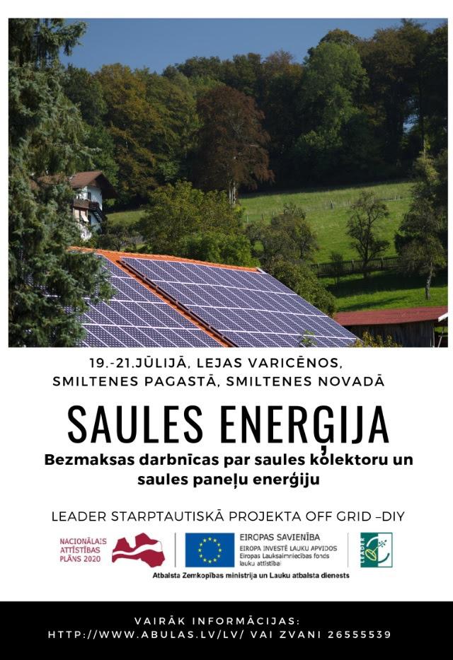 SAULES-ENERGIJA