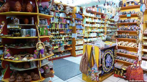 Vie quotidienne de FLaure: Velan magasin Indien