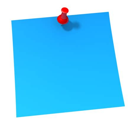 sticky notes png clipart
