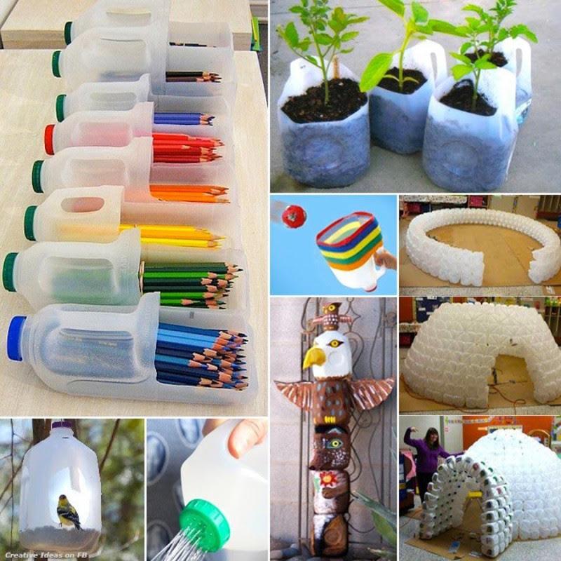 Recicla y crea estupendas cosas con estas 25 ideas - 1