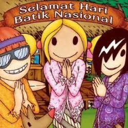 kata mutiara hari batik nasional  oktober terbaru