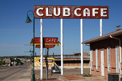 club café on will rogers dr.