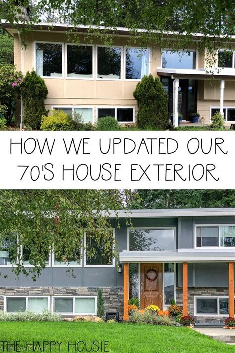 front yard exterior makeover reveal