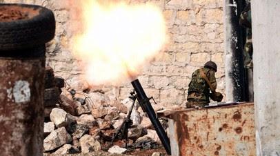 Сирийский военный ранен при артобстреле в провинции Алеппо