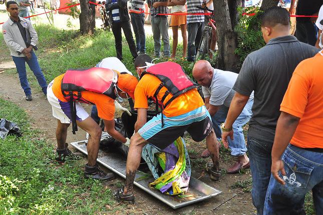 Encuentran dos cadáveres en el río Yaque el Norte en Santiago